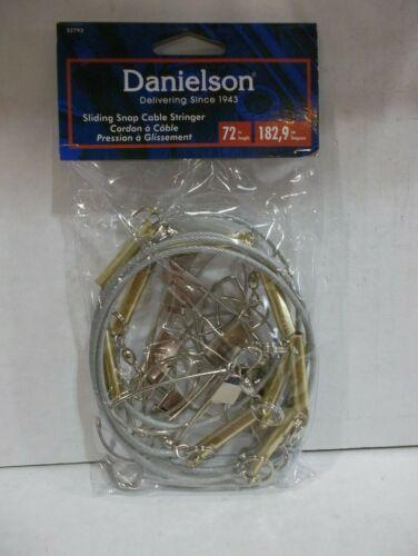 "Danielson 72"" 8 hook Sliding Snap Cable Stringer NIP"