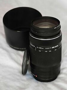 Olympus M. Zuiko 75-300 II with accessories - great condition! South Yarra Stonnington Area Preview