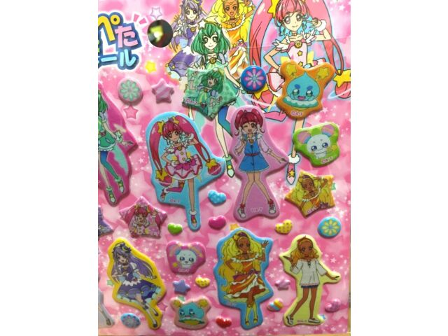 Details about  /Only 4 left Star☆Twinkle Precure Mini Towel Heart Japan Kawaii Anime Tracking #