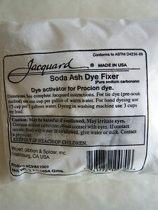 soda ash tie dye fixer 1 lb new jacquard ebay