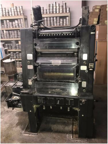 Heidelberg GTO One Color Offset Printing Press Plus Version S/N 663802