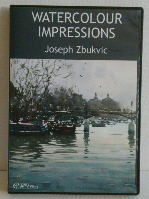 ZBUKVIC JOSEPH Watercolour Impressions DVD Watercolor Tutorial