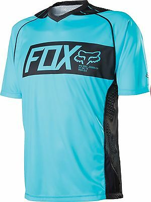 Fox Racing 2015 Attack s/s Jersey Ice Blue Fox Attack Jersey