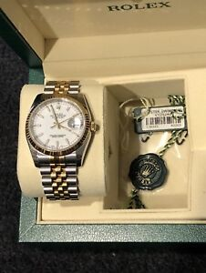 Rolex Date-Just 18K two tone 116233 Brand new