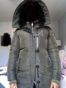 Manteau vert khaki d'hiver Rudsak