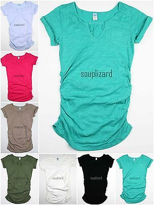 New Old Navy Maternity Clothes - New OLD NAVY Womens Maternity Solid Shirt Tee Top T-Shirt NWOT Size sz XS S M L