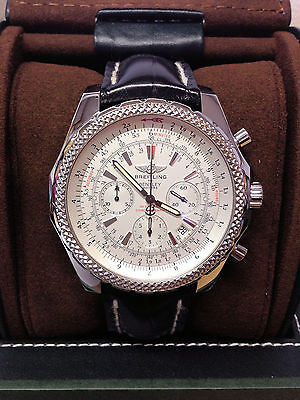 Breitling for Bentley Motors A25362 Silver Dial - 2007 - Serviced By Breitling