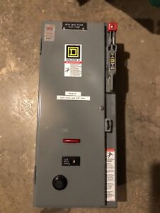 Square D 15amp Disconnect 3phase