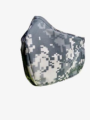 Waterproof Face Mask Mens Washable Filter Pocketfilter Papernose Clp