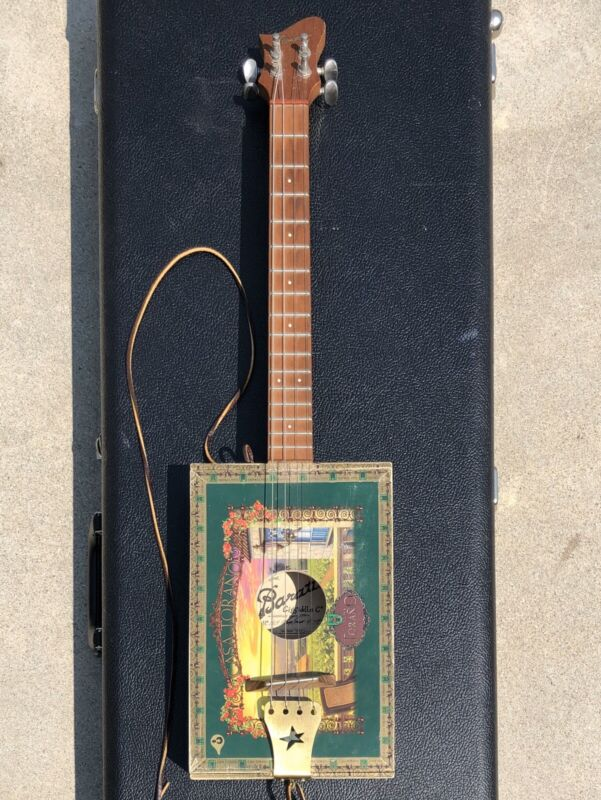 Matty Baratto Guitars Custom CigFiddle Cigar Box Guitar
