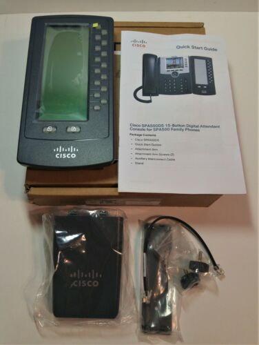Cisco SPA500DS Attendant Console Digital Expansion Module SPA500 Series Phone