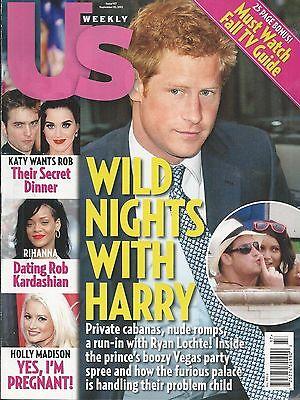 Us Weekly Magazine Prince Harry Robert Pattinson Kristen Stewart Holly Madison