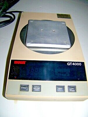 Ohaus Scale Top Load Digital Scale Model Gt 4000