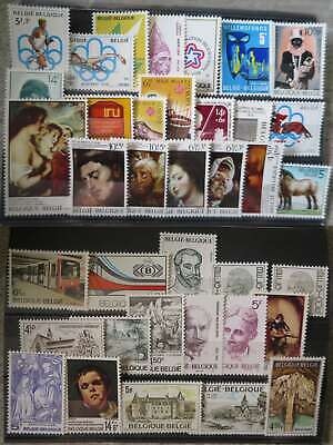 BELGIUM 1976 YEAR SET MNH** by1/cr276
