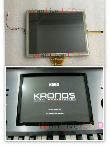New 8'' LCD screen for Korg Kronos  Kronos 2 With Touch Digitizer Display Panel