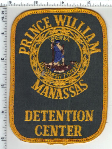 Prince William-Manassas Detention Center (Virginia) Uniform Take-Off Patch 1970s