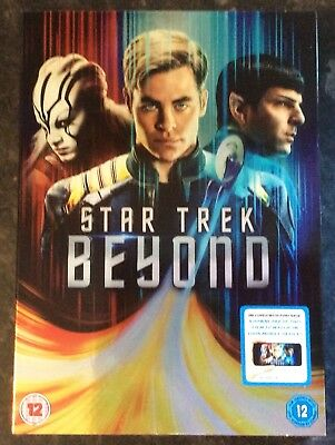 STAR TREK BEYOND DVD (CHRIS PINE) GOOD AS NEW MINT CONDITION ()