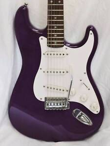 Fender Squier Strat - Crafted in China with Gig Bag & Picks Burwood Whitehorse Area Preview
