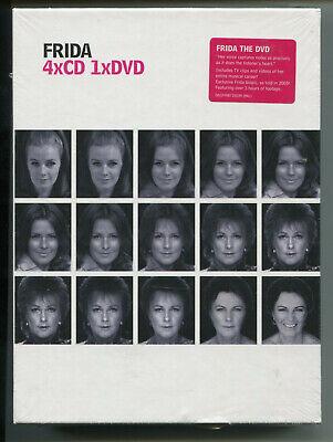 ANNI-FRID LYNGSTAD * ABBA * FRIDA BOX SET * 4 CDS + 1 DVD * NEW & SEALED