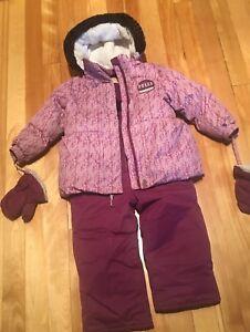 Manteau d'hiver fille 2ans