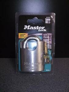 Master Lock stainless steel 50mm padlock Morphett Vale Morphett Vale Area Preview