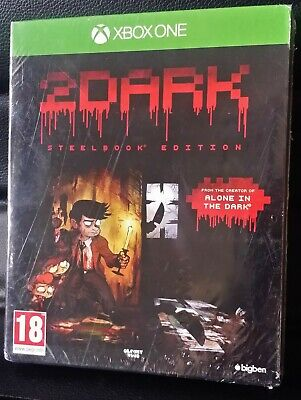 XBOX ONE GAME 2DARK STEEL BOOK EDITION CD SOUNDTRACK BRAND NEW FACTORY SEALED #1