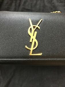YSL - Authentic Kate Small in Grain Leather