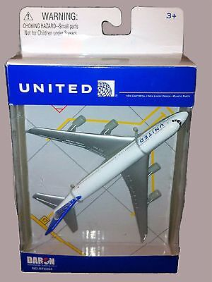 DARON REALTOY RT6264 United Airlines Boeing 747 Reg# N175UA 1/475 Diecast. New ()