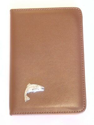 Trout Fishing Design Shotgun Certificate Holder or Firearms Licence Wallet