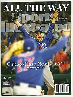 "2016 SI Sports Illustrated CHICAGO CUBS ""ALL THE WAY"" World Series Champions"
