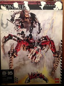 Lego Bionicle #8764, Vezon & Fenrakk, unopened in box Cambridge Kitchener Area image 1