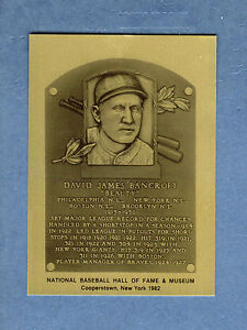 HOF METALLIC plaque-card: DAVE