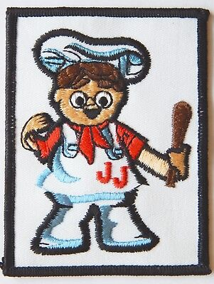Vintage JJ Nissen Bread Bakery Patch With Chef Character 4