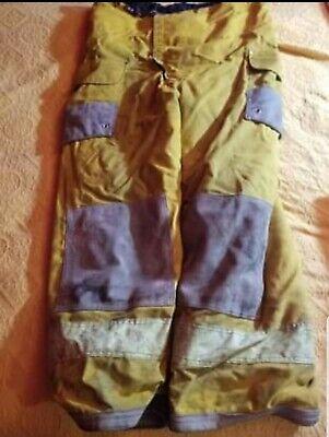 Vintage Janesville 1990s Firefighter Pants 42 30 Nomex Gear Bunker Turnout
