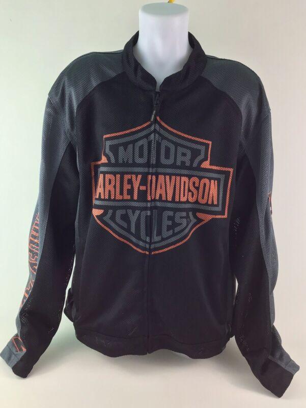 Harley Davidson Mesh Riding Jacket Men