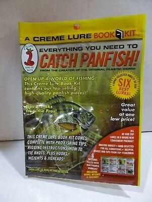 """Creme 3/"""" Lit/'l Fishie PERCH 34560 Color YL//AQ//BK for Bass//Pickerel//Walleye//Pike"""