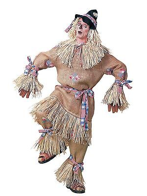 Mens Adult Deluxe Scarecrow Costume Outfit Plus Size Up To 48 - Adult Deluxe Scarecrow Kostüm
