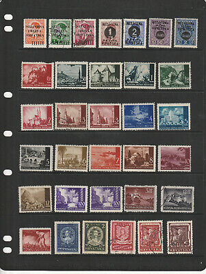 CROATIA  Collection of Mint and Used  98 stamps  See comments    A1857