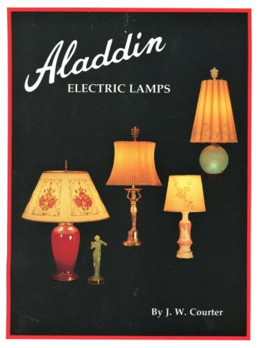 Aladdin Electric Lamps Shades Parts 1930-1956 / In-Depth Illustrated Book