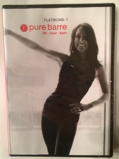 Pure Barre Flatirons: 1 Workout DVD Brand New Factory Sealed