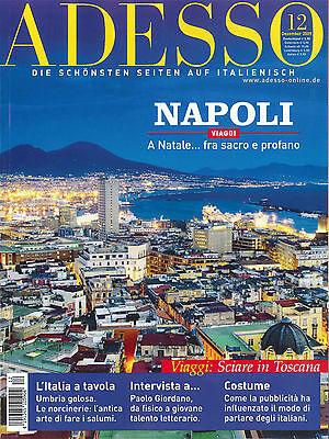 ADESSO, Ausgabe Dezember 12/2009: Napoli - Italienisch-Magazin +++ wie neu +++