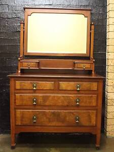solid timber dresser with removable mirror Florey Belconnen Area Preview
