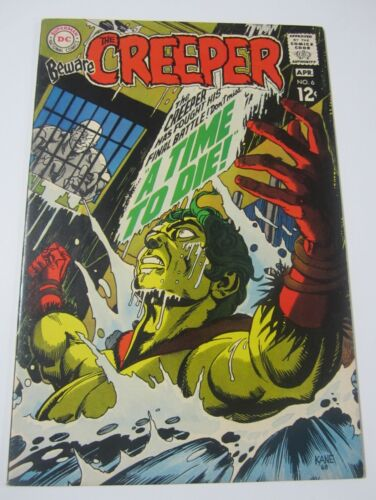 "BEWARE THE CREEPER (#6, Apr 1969) ""A Time to Die"" DC Comic Book"