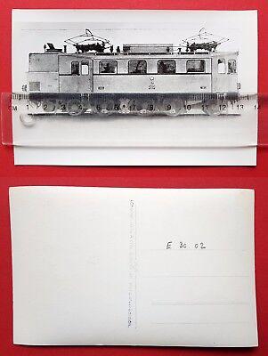 Eisenbahn Foto AK von Bellingrodt E-Lok E30 02 EP 202       ( 24714