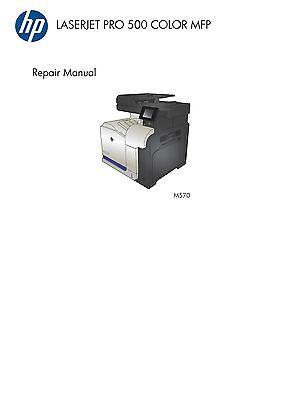 HP Color LaserJet Pro 500 MFP M570 - Service Manual PDF