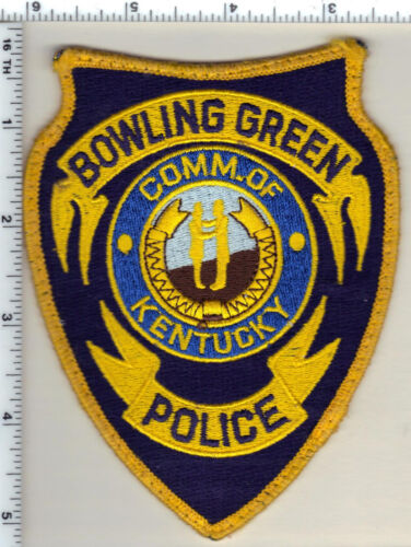 Bowling Green Police (Kentucky) Shoulder Patch - new from 1997