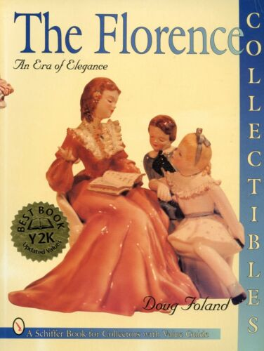 California Florence Porcelain Figurines Collectibles / Illustrated Book + Values