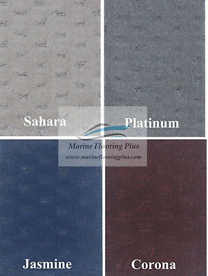28 oz Pattern Marine Outdoor Pontoon Boat Carpet - 8.5' Wide-4 Colors-Direct OEM
