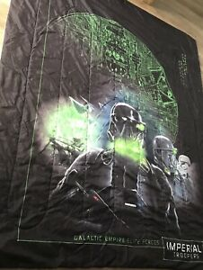 Reversible Star Wars Comforter and pillow cases