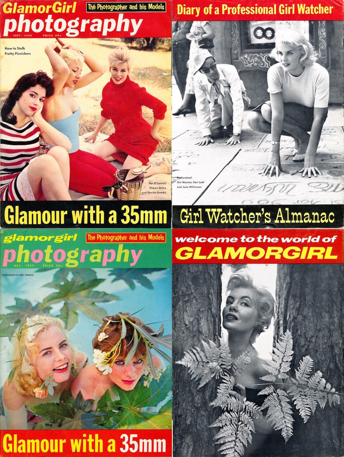 GLAMORGIRL PHOTOGRAPHY Glamor Girl 2 PINUP MAGAZINES 1959 CHEESEcake 125914 - $45.00
